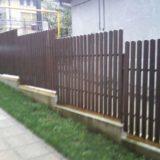 Gard lemn GA02